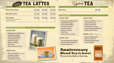Coffee Bean And Tea Leaf Menu 3 2013 coffee bean menu boards Images   Frompo