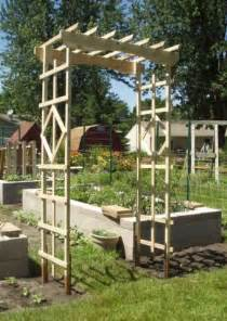 Garden Arbor Made From Pallets Arbor Ness And Squash Trellis Update Arbors And Pergolas
