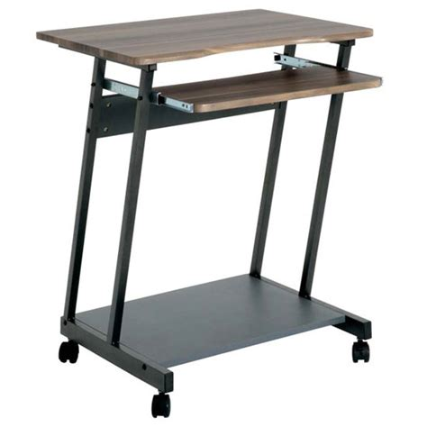Computer Trolley Desk Print Computer Desk Table In Beech Top For 163 480 00 Go Furniture Co Uk