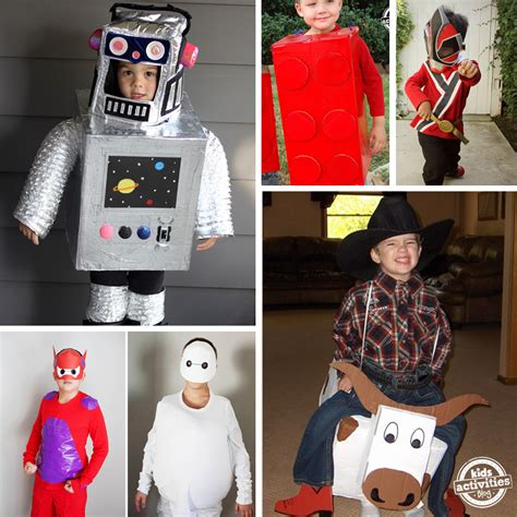 Costumes Handmade - 15 awesome diy costumes for boys