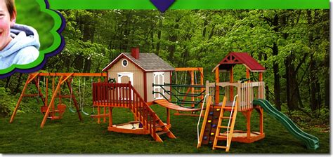 rent to own swing sets model ptu wood childrens playset amish mike amish sheds