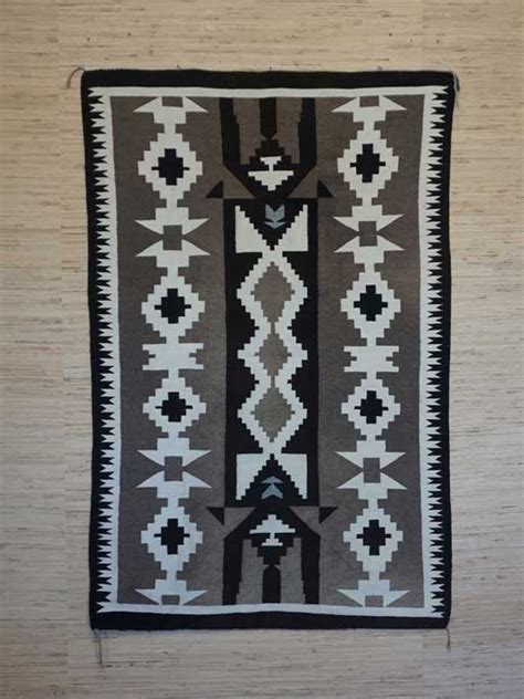 two grey navajo rugs toadlena two grey navajo rug in a three column format 851 s navajo rugs for sale
