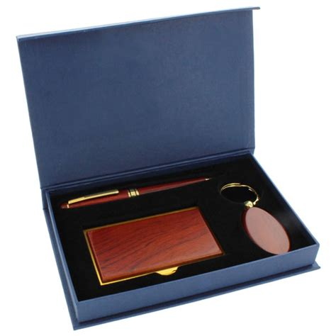 Rosewood Gift Card - gift set rosewood key chain card case and pen gf4705 trophies executive s desk