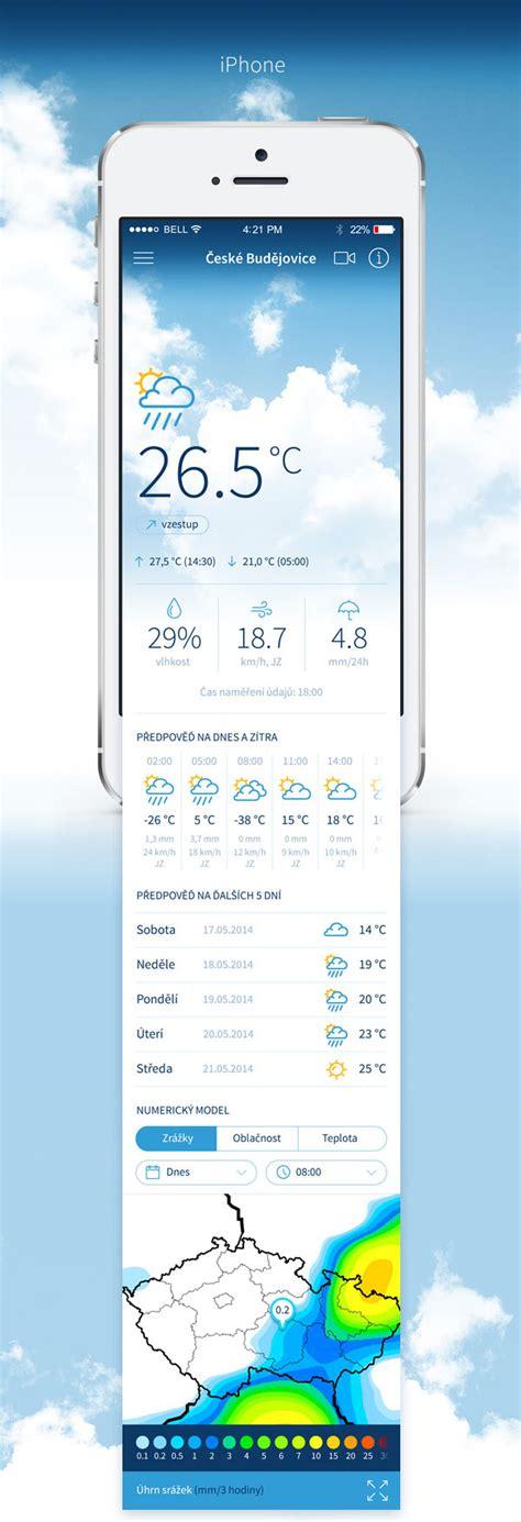 inspiration design application mobile mobile app design inspiration inpočas 237 weather app