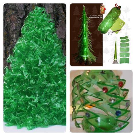 193 rbol de navidad hecho con botellas de pl 225 stico una idea