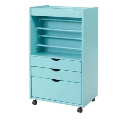 home decorators collection stanton 20 in w wrapping cart home decorators collection stanton 20 in w blue wrapping