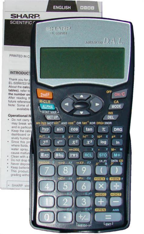 Sharp Calculator El 501x Scientific Kalkulator Kuliah El 501 X scientific calculator sharp images