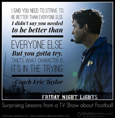 On Friday Lights by Eric Quotes Quotesgram