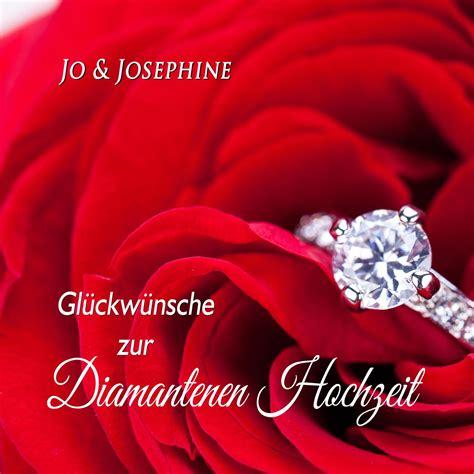 Diamantene Hochzeit by Gl 252 Ckw 252 Nsche Zur Diamantenen Hochzeit Mp3 Cd