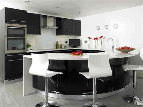 modern black kitchen white and black kitchen ideas decobizz com