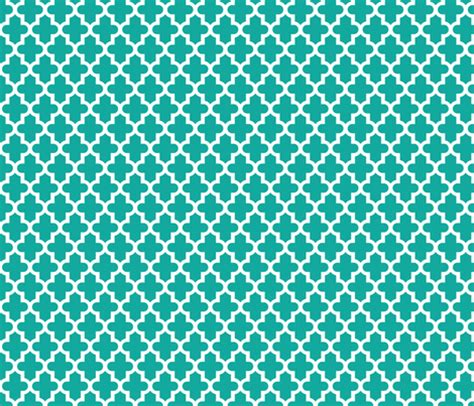flower pattern eshop teal moroccan fabric sweetzoeshop spoonflower
