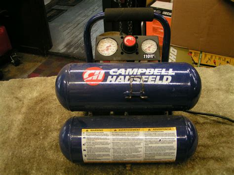 cbell hausfeld stack tank electric quot parts quot air compressor mod fp209501 ebay