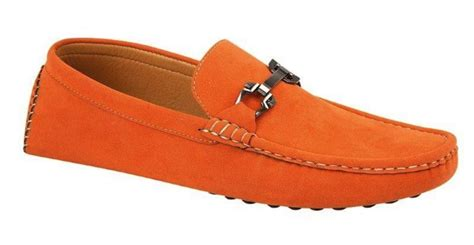 mens orange loafers orange loafers casual shoes mince his words