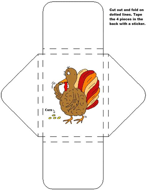 thankful turkey craft template thanksgiving legend sunday school lesson