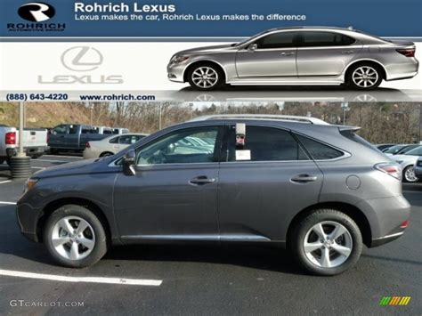 lexus gray 2012 nebula gray pearl lexus rx 350 awd 60445169 photo