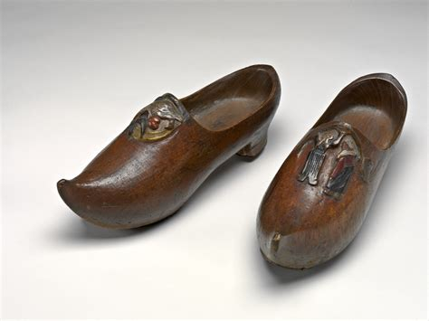wooden shoe slippers paul gauguin pair of wooden shoes sabots right 1889