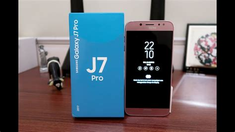 samsung galaxy j7 pro unboxing review