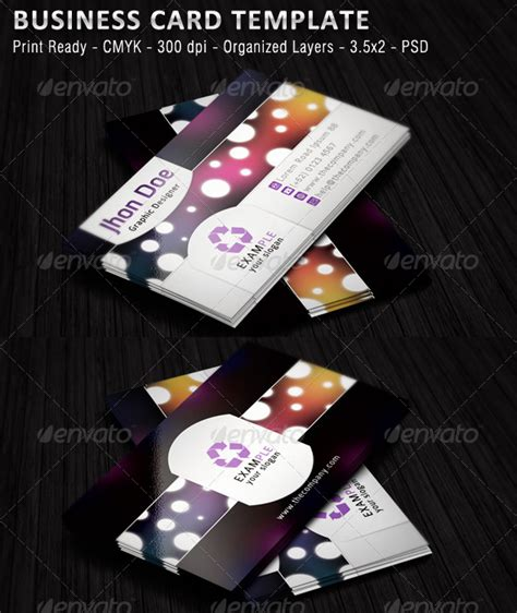 business review card template warung coreldraw photoshop review template