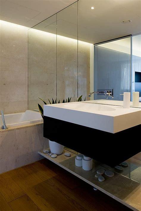sleek bathroom design moscow contemporary apartment sports elegance