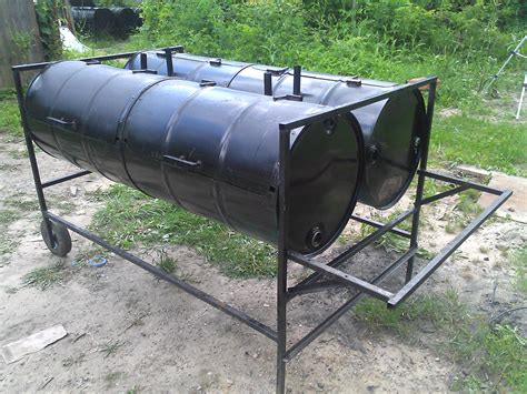 Handmade Barbecue Grills - detroit grillking custom barrel bbqs