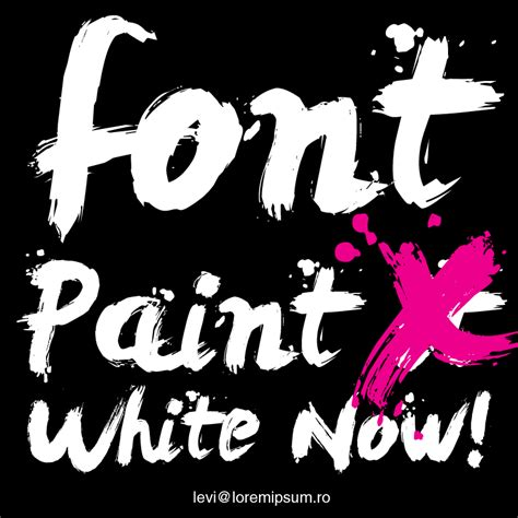 dafont spray paint how to make graffiti