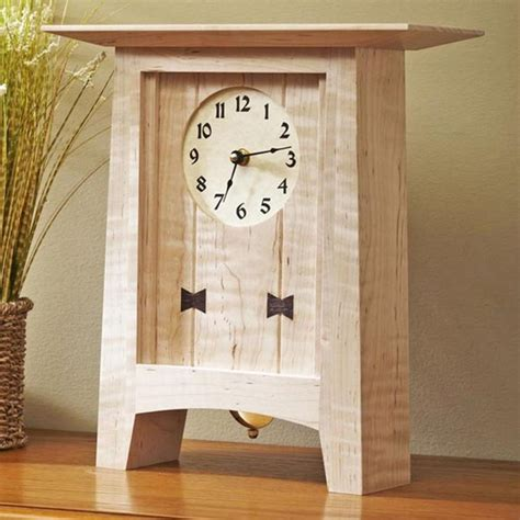 mantle clock woodworking plans woodworking projects plans