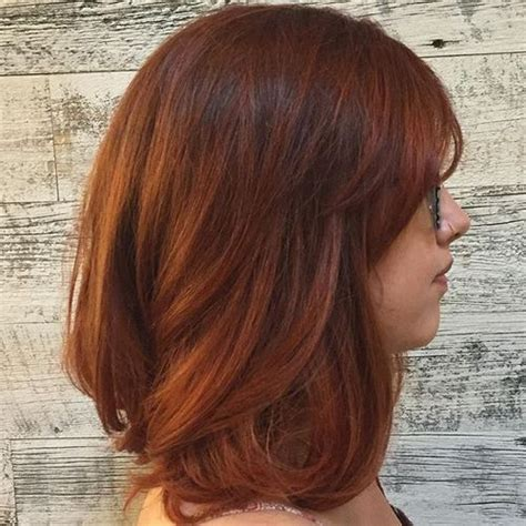 haur styles with black hair and another color in the bottom 60 auburn hair colors to emphasize your individuality