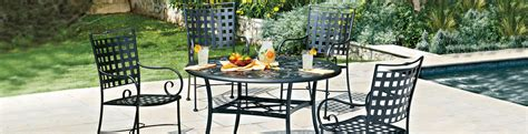 sheffield outdoor commercial grade wrought iron furniture