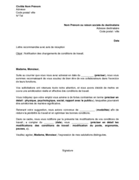 Lettre De Notification Entreprise Retenue Modele Lettre Candidature Election Ce