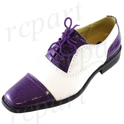 s dress shoes new s dress shoes fashion formal lace up purple white