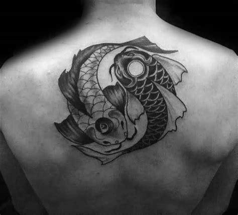 tattoo nightmares koi yin yang 6 yin yang koi fish tattoo golfian com