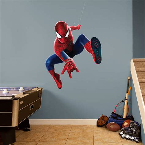 the amazing spider man 2 swing shop amazing spider man wall decals graphics fathead
