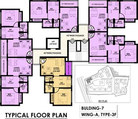 typical floor plan of a house irasa park in palghar mumbai price location map floor