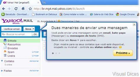 mail yahoo brasil novo yahoo mail dicas ensino dicas