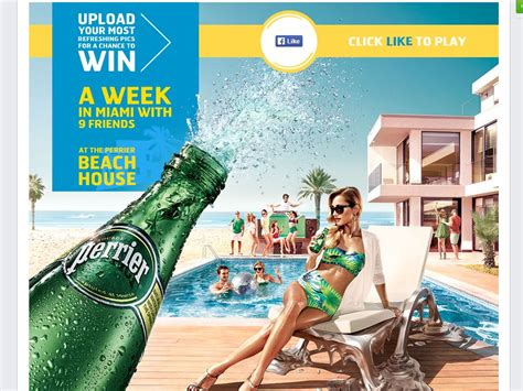 Beach House Giveaway - perrier beach house sweepstakes