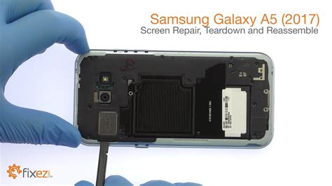 samsung galaxy a5 2017 screen repair teardown and reassemble guide fixez