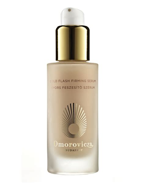 Walet Gold With Serum Gold gold flash firming serum by omorovicza
