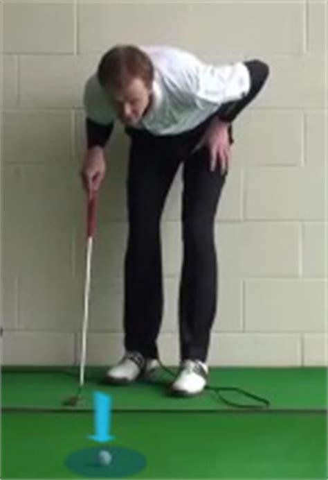 how to plumb bob a putt