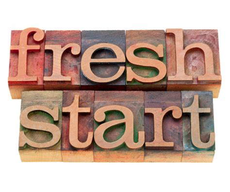 how to start fresh in time for a fresh start diane quintana geralin