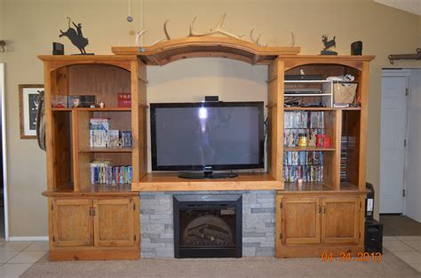 Tv Entertainment Centers With Fireplace by White Entertainment Center Fireplace Diy Projects