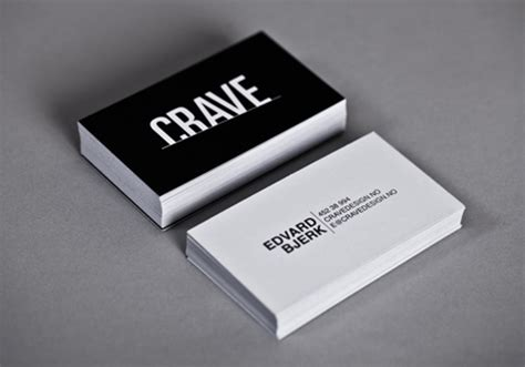 black and white business cards design 50 inspiring