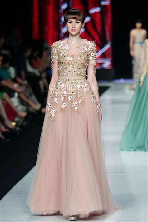 Bahan Tile Elie Saab Kain Tile Elie Saab Bahan Kebaya baju pesta ivan gunawan search dress inpiration