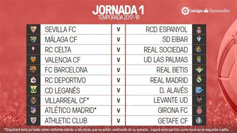 Calendario De Liga Santander Liga Santander As 237 Vivimos El Sorteo Calendario De