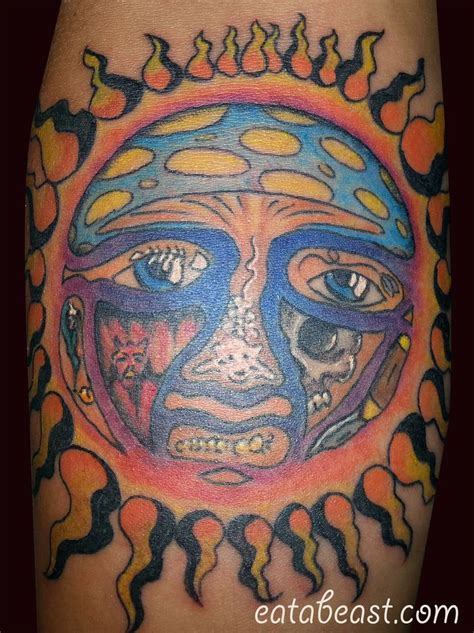 sublime tattoo simplified sublime 40 oz to freedom sun on a