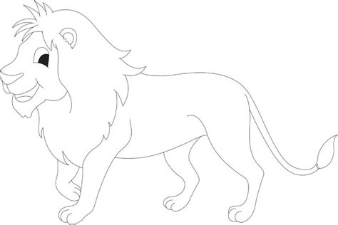 cartoon lion coloring pages free coloring pages of cartoon lion