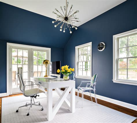 Small Sputnik Chandelier Paint Gallery Benjamin Moore Van Deusen Blue Paint