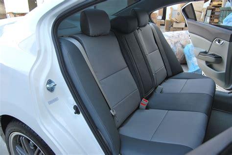2012 honda civic coupe car seat covers honda civic sedan 2012 leather like custom seat cover ebay
