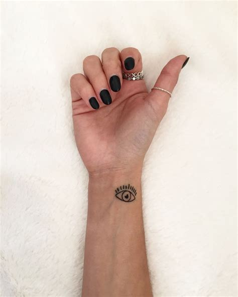 evil eye tattoo on wrist best 20 evil eye tattoos ideas on