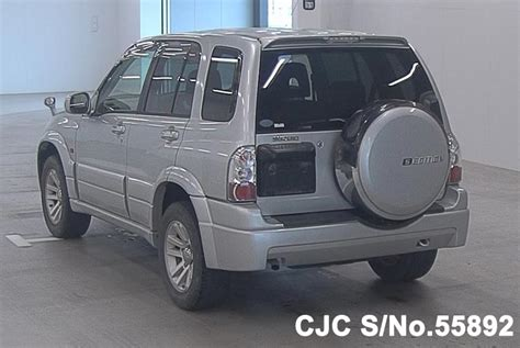 Suzuki Grand Vitara 4wd System 2004 Suzuki Escudo Grand Vitara Silver For Sale Stock No