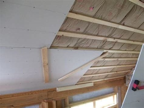 miscellaneous garage ceiling placement with drywall lift